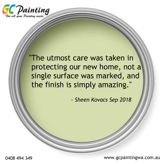 gc painting customer review testimonial