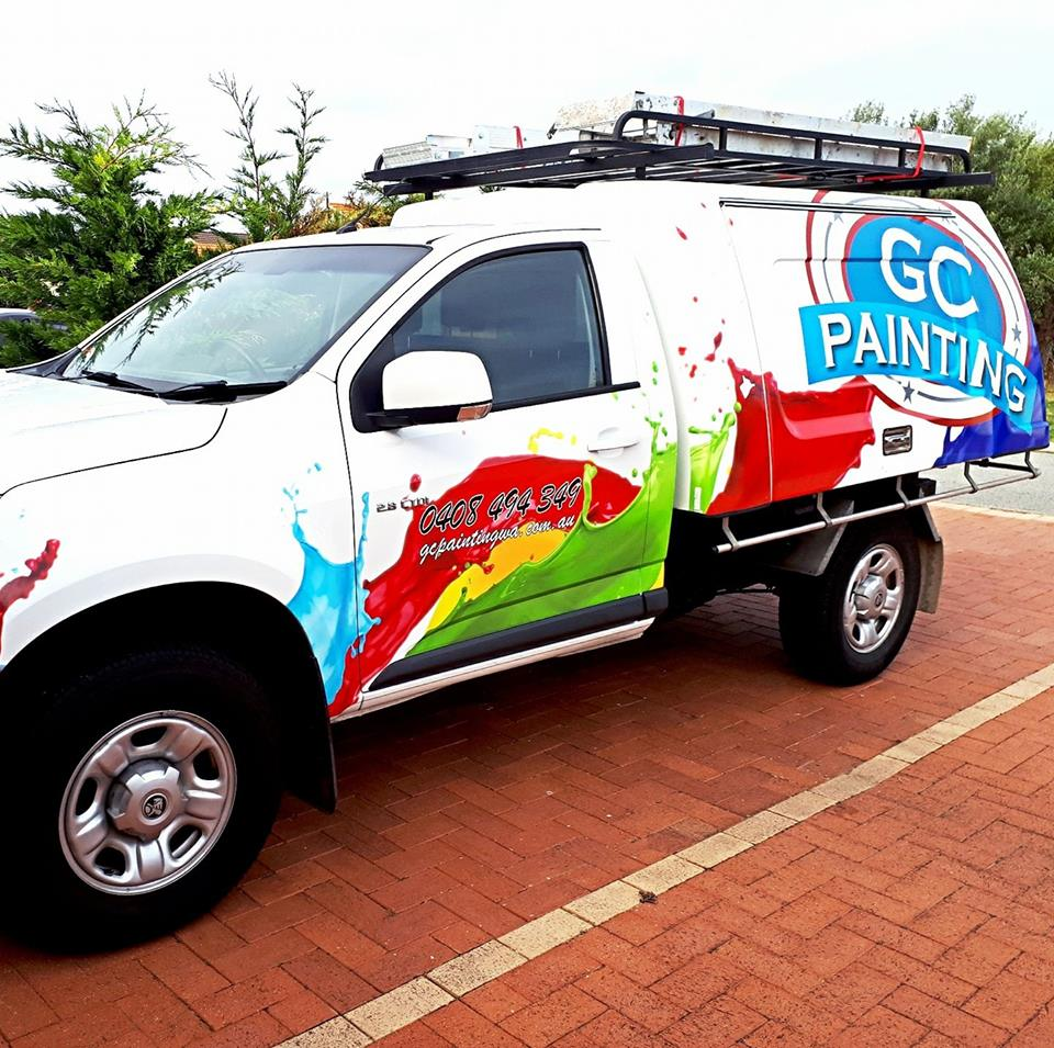 gc painting mobile vehicle